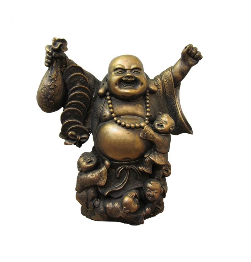 مجسمه بودا ثروت و خانواده