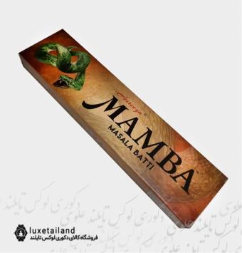 عود خوشبو کننده آمریا Amreeya مدل دست ساز مامبا Mamba