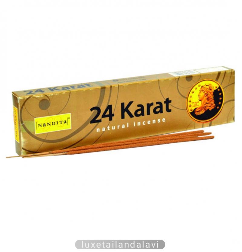 عود خوشبو کننده 24 عیار 24 Karat ناندیتا NaNDITa مدل دست ساز