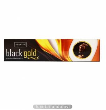عود خوشبو کننده دست ساز طلای سیاه (قهوه) Black Gold ناندیتا NaNDITa
