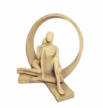 مجسمه حلقه عشق
